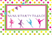 Nana's Party Palace logo