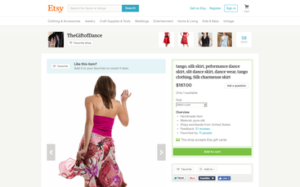 Silk Tango Skirt