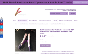Ballet Feet Stretcher Plus!